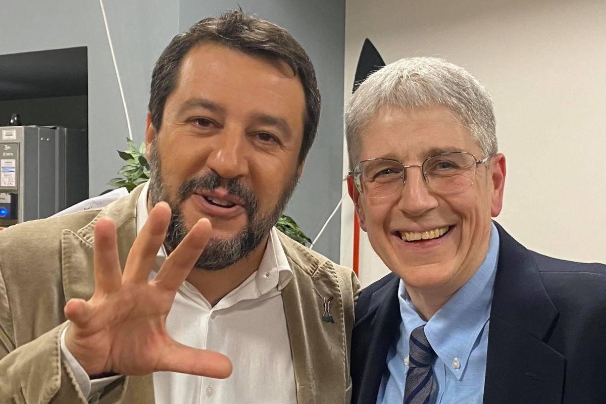 Salvini e l'Italia senza alcun senso, scientifico, economico e morale