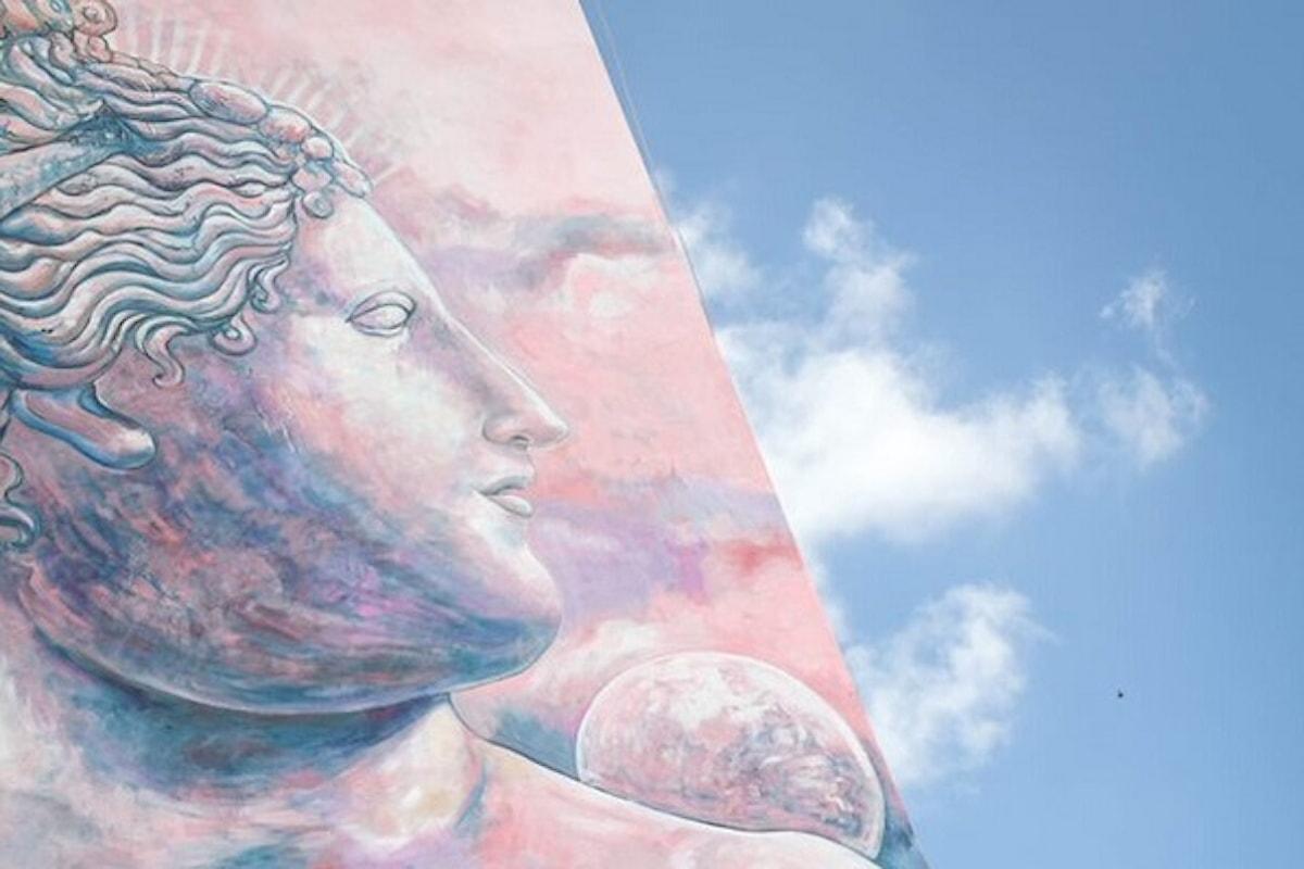 YOURBAN 2030: #AmorEtCura, una Venere per la prevenzione. Inaugurato il nuovo ecomurales di Carlos Atoche nel cuore di Garbatella