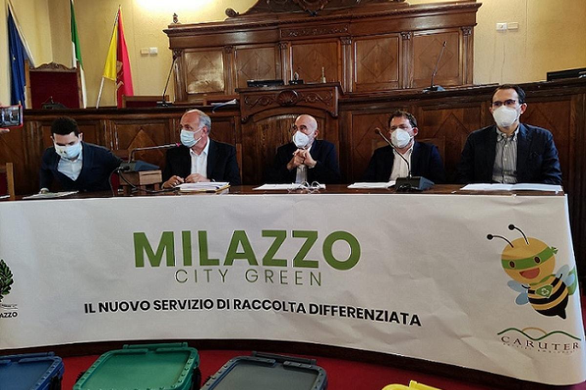 Milazzo (ME) - Conferenza stampa della Caruter sulla gestione del servizio rifiuti
