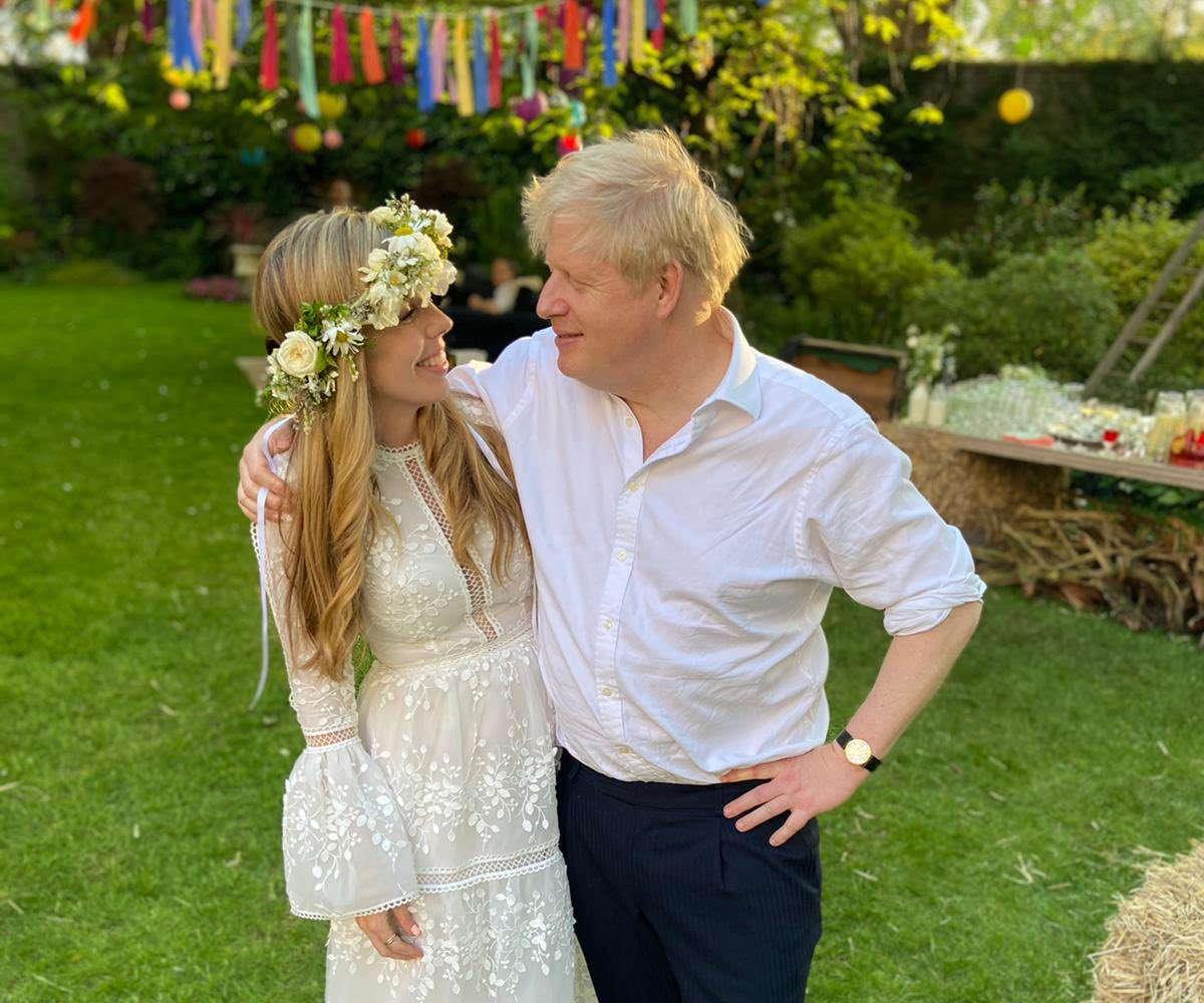 Boris Johnson e Carrie Symonds si sono sposati sabato in estrema segretezza nella cattedrale di Westminster