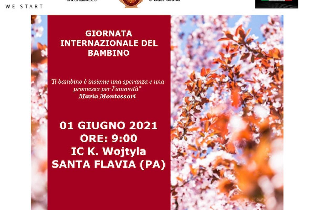 Giornata internazionale del bambino a Santa Flavia - Istituto Comprensivo K. Wojtyla, 1 Giugno alle 9.00 - L'impegno di WeStart nel sociale