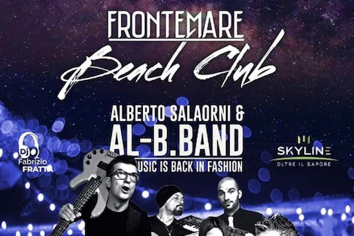 Alberto Salaorni & Al-B.Band al Frontemare Beach Club - Rimini sabato 22 maggio