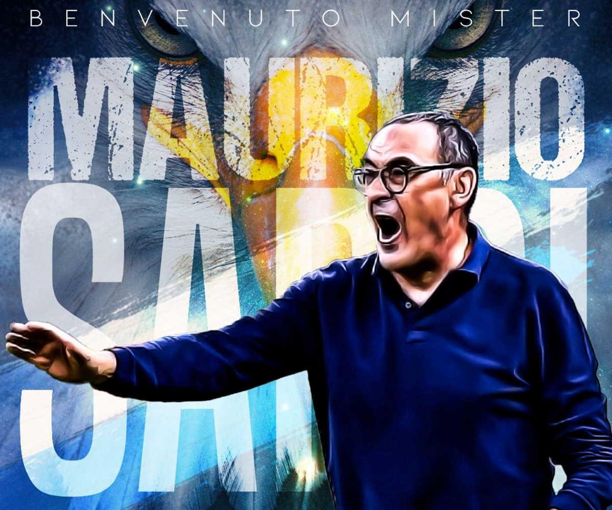 È ufficiale: Maurizio Sarri è il nuovo allenatore della Lazio