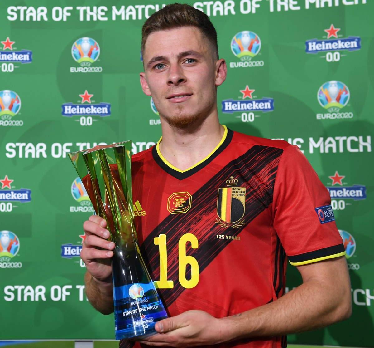 Euro 2020, il Belgio batte il Portogallo per 1-0 e diventa così l'avversario dell'Italia ai quarti