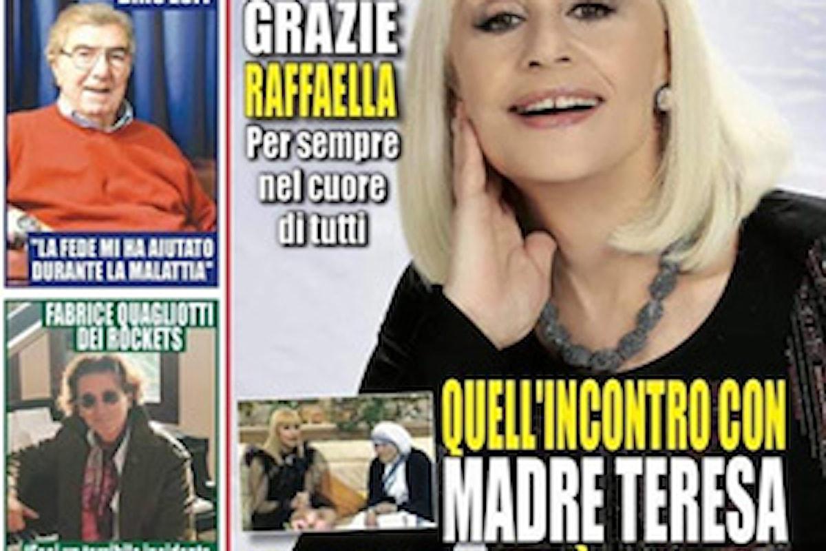 Il regista Maximo De Marco ricorda Raffaella Carra' sul settimanale Miracoli in edicola!