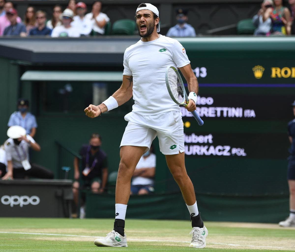 Due finali per l'Italia a Londra: inizia Berrettini che tenterà di aggiudicarsi il torneo di Wimbledon, primo italiano di sempre