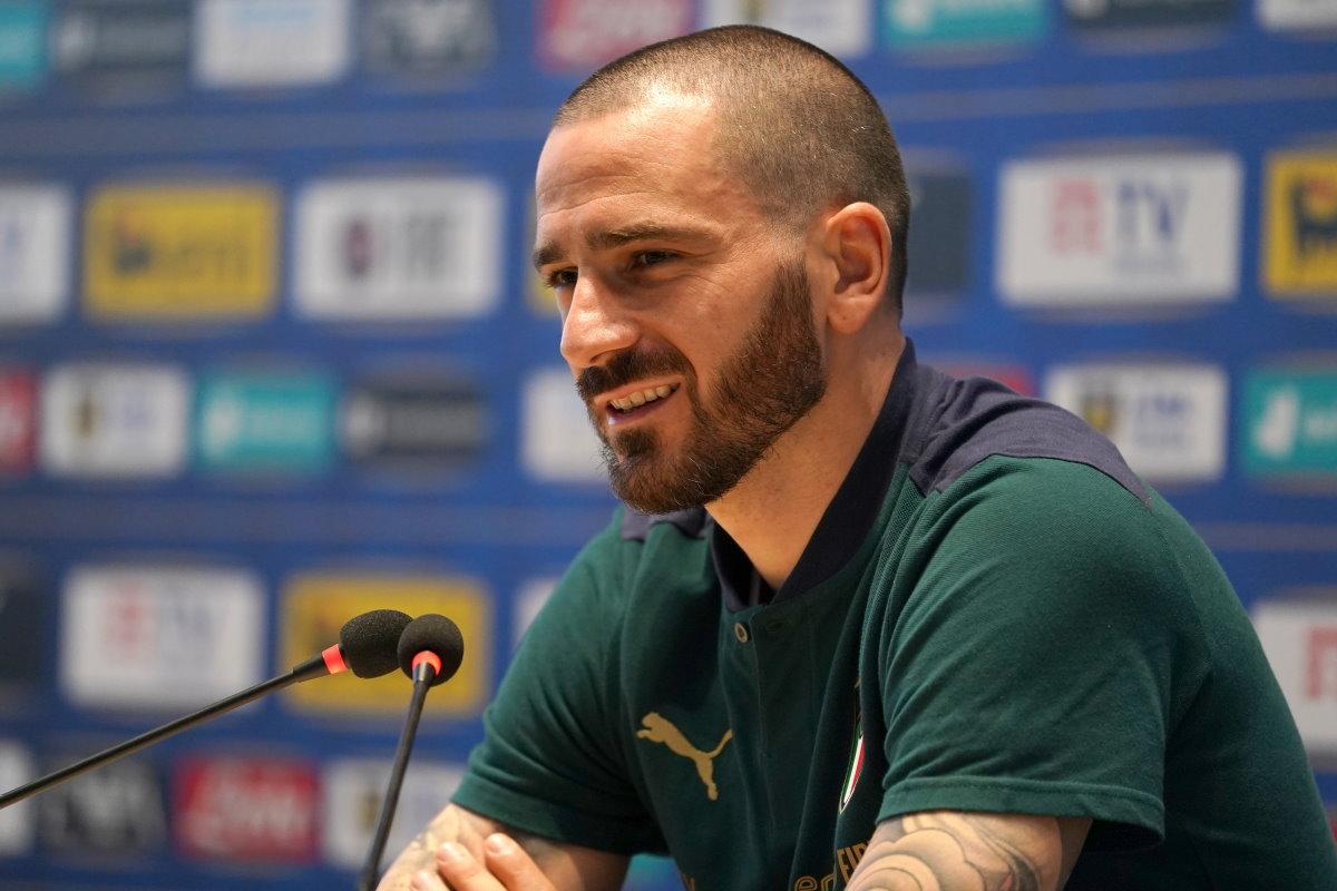 Le dichiarazioni di Bonucci del pre-partita Italia - Inghilterra