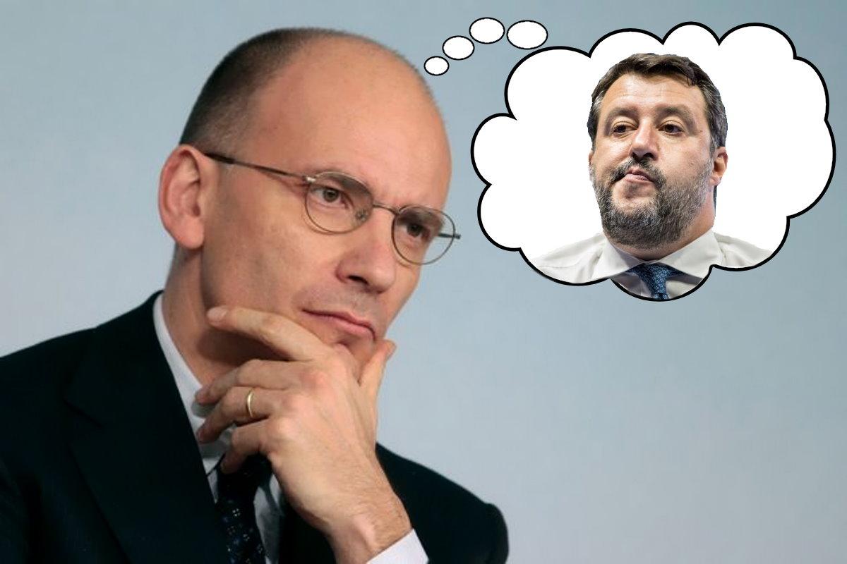 Letta: non si ripeterà mai più che governiamo anche con Lega e Salvini