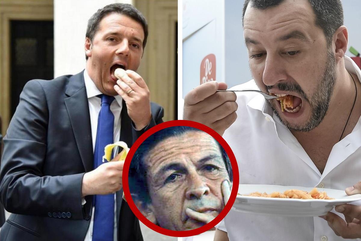 Salvini e Renzi, uniti, adesso hanno deciso di dare battaglia al reddito di cittadinanza