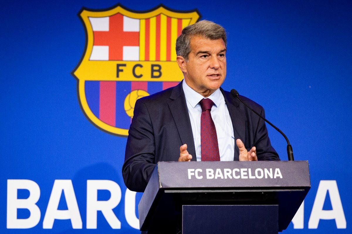 Laporta: il Barcellona è sommerso dai debiti