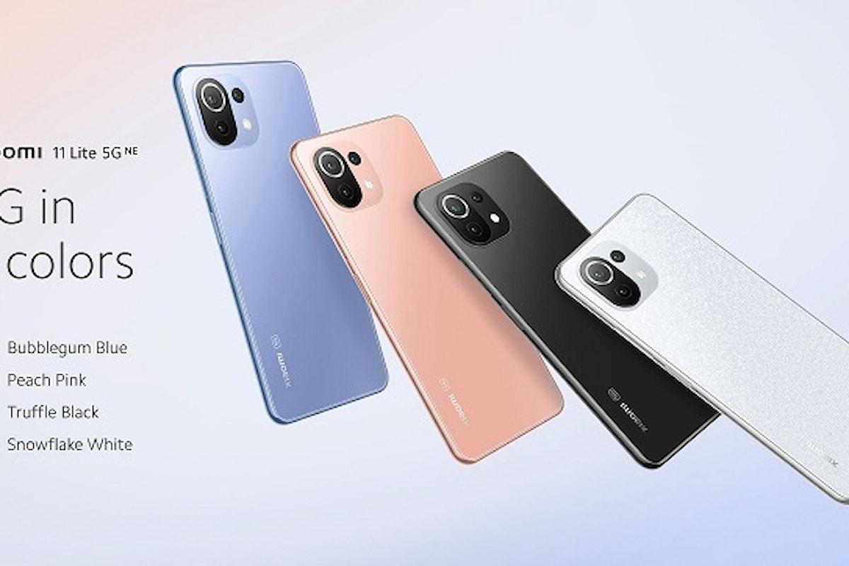 Xiaomi 11 Lite 5G NE presentato ufficialmente: cerchi uno smartphone 5G bello, leggero e sottile? Lo hai trovato