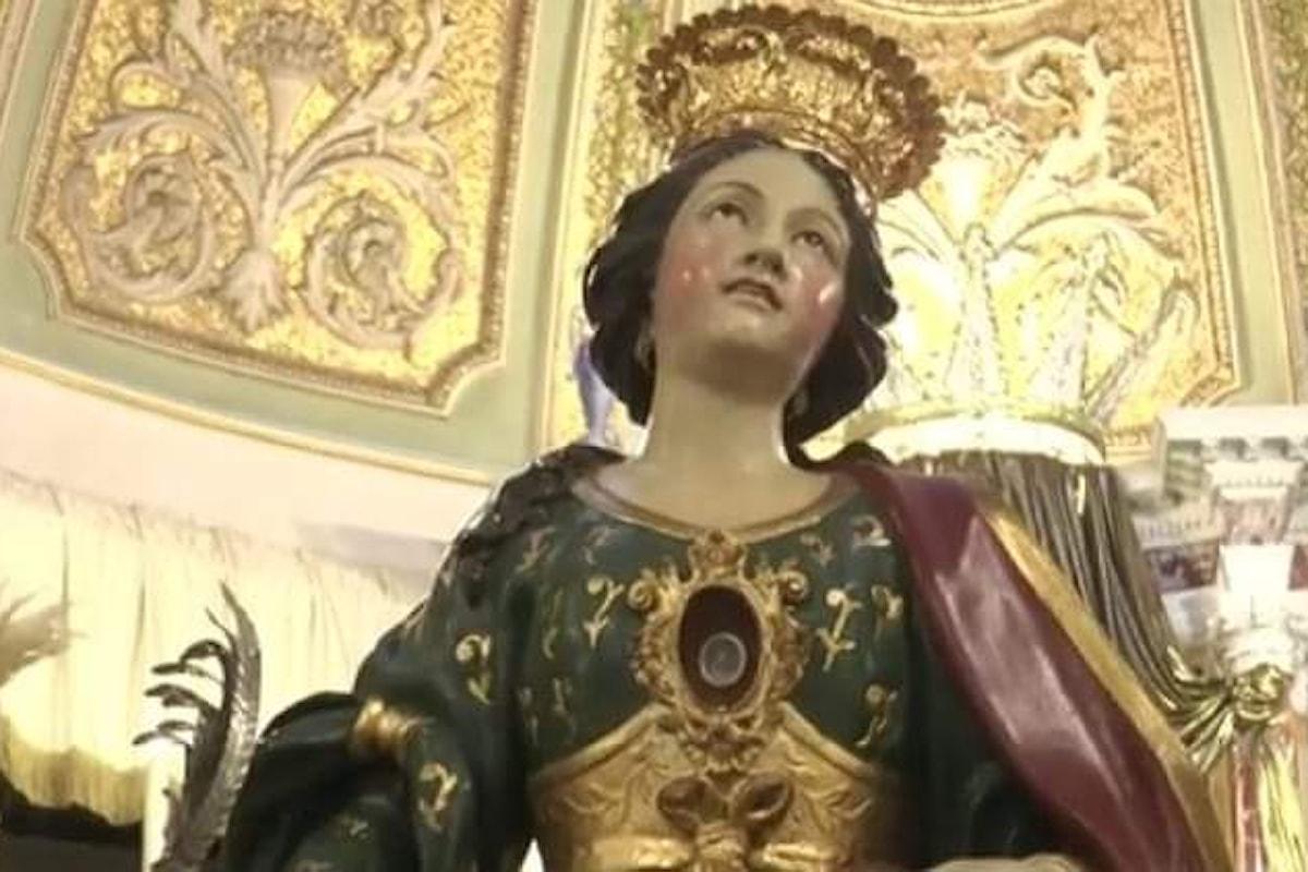 La comunità dei fedeli di Carinaro si prepara a celebrare la festa liturgica di Santa Eufemia