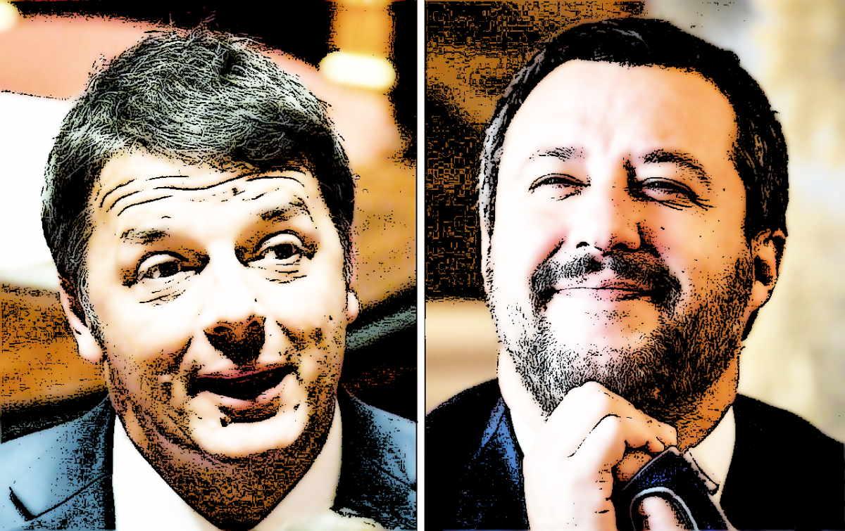 Da Salvini e Renzi nuovi grattacapi per Draghi e per il governo