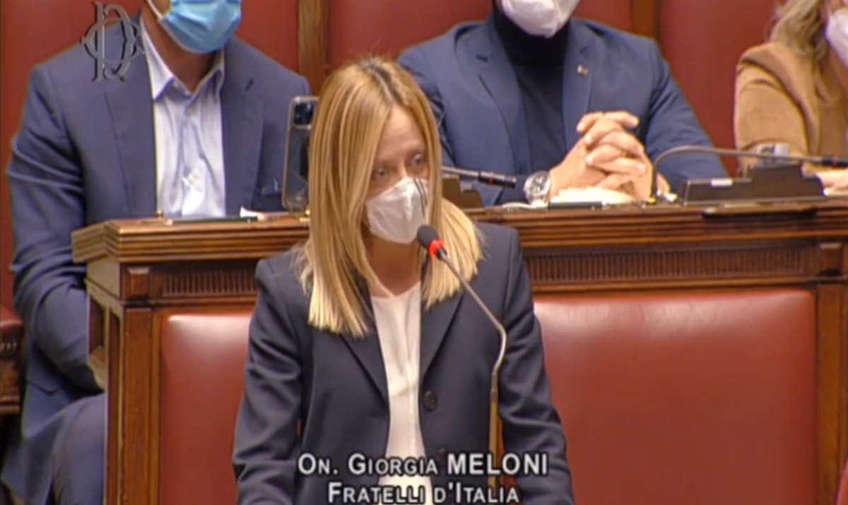 Giorgia Meloni: Quello che è accaduto sabato è stato volutamente permesso. È stato calcolo! Siamo tornati alla strategia della tensione
