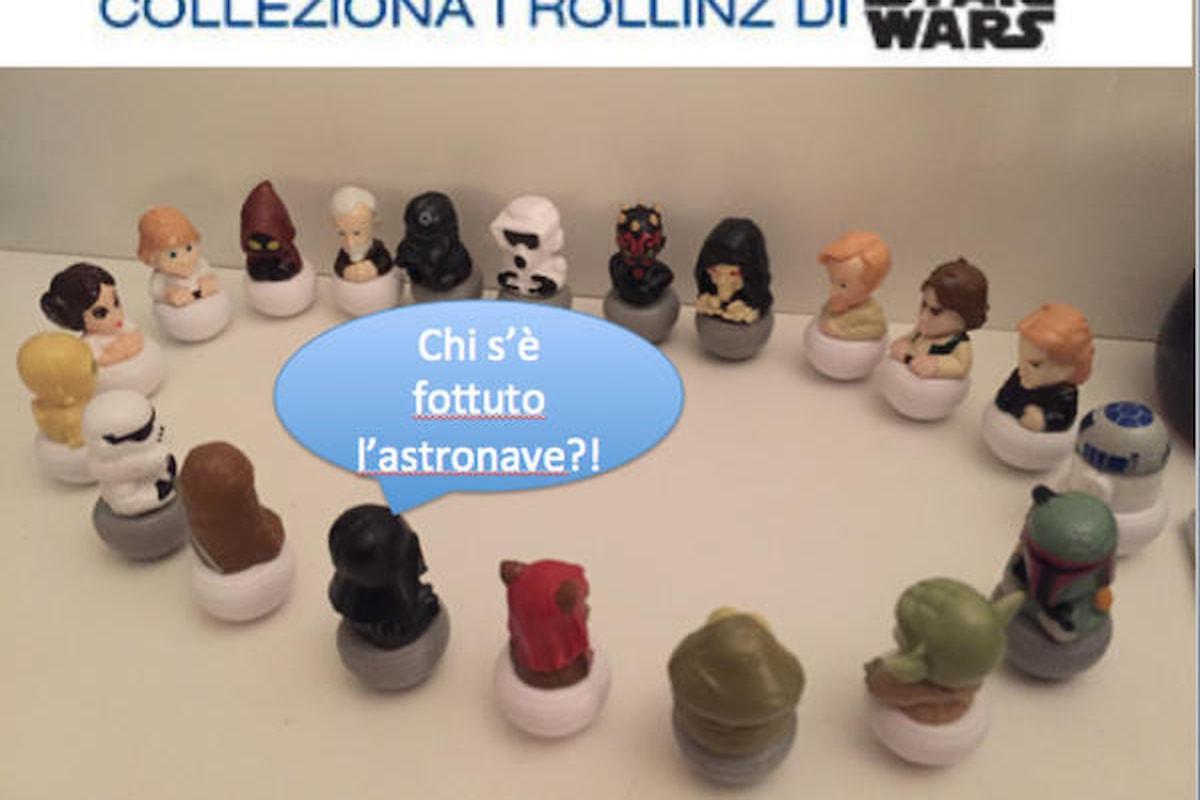 Il Millenium Falcon per i Rollinz di Star Wars è introvabile!