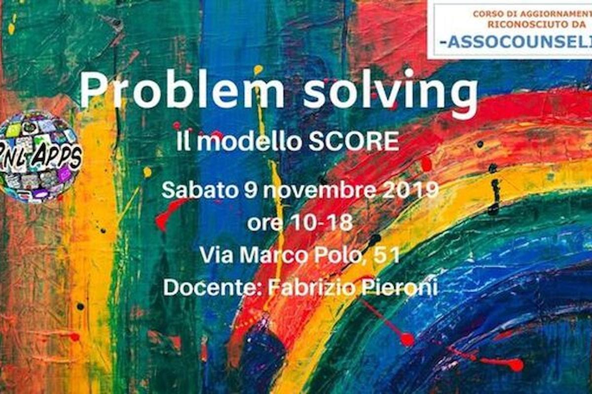 Il modello SCORE per un'analisi sistemica dei problemi