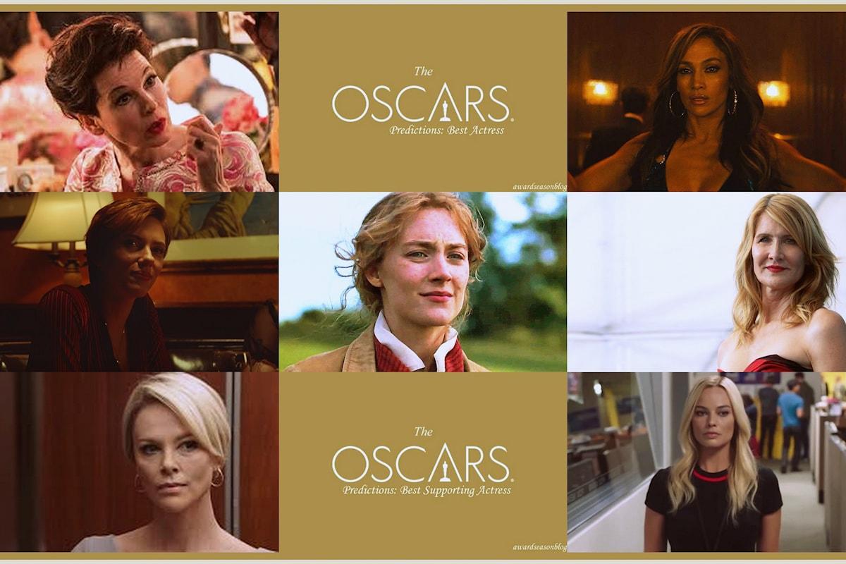 Quali sono ad ottobre le attrici favorite per una nomination agli Oscars 2020 nelle categorie Miglior attrice e Miglior attrice non protagonista?