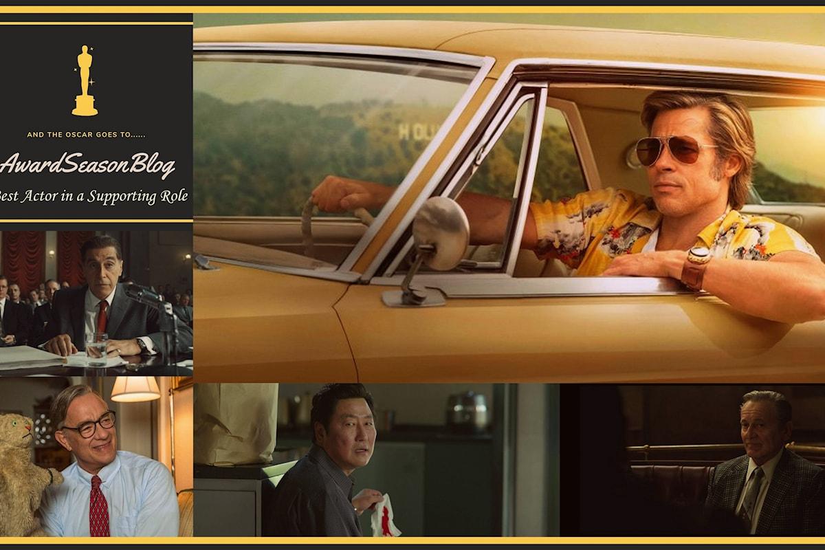 Previsioni Oscars 2020: Brad Pitt per C'era una volta a Hollywood in pole position per la nomination