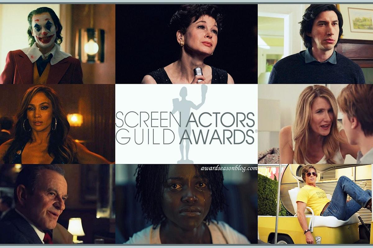 SAG Awards 2020: quali sono i candidati favoriti agli Oscar?