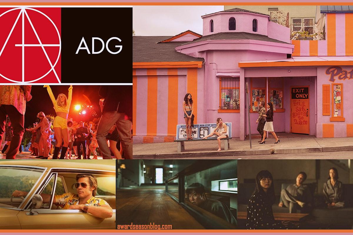 Art Directors Guild Awards: C'era una volta a Hollywood e Parasite vincono i premi per la miglior scenografia