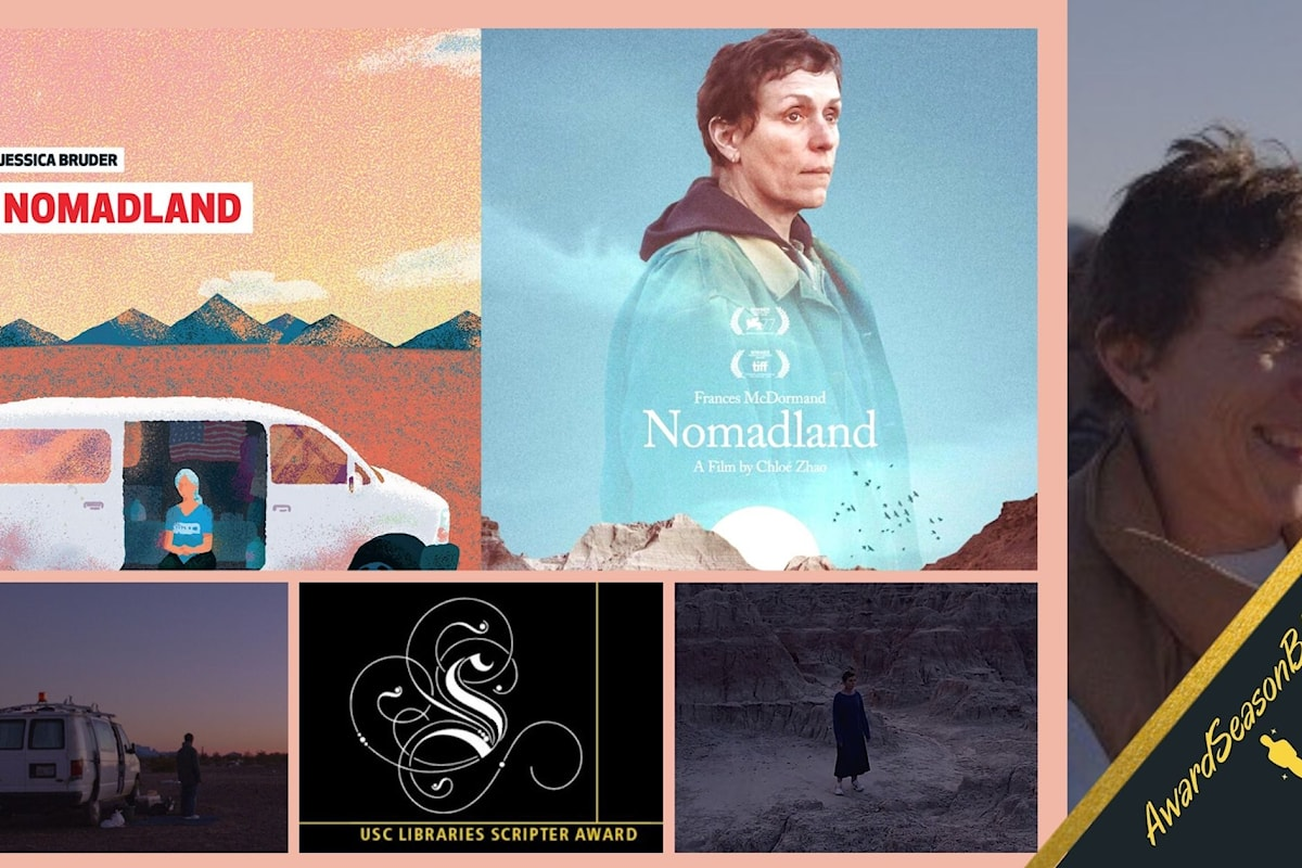 USC Libraries Scripter Award: al road movie Nomadland il premio per il miglior adattamento dell'anno