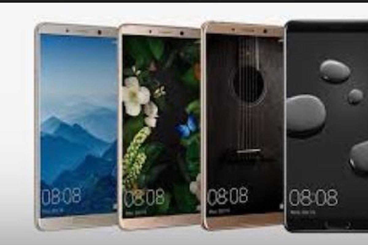 Presentato il nuovo cellulare Huawei Mate 10 Pro