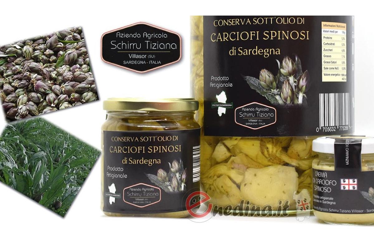 Carciofi spinosi sardi di Villasor: nuova linea dell'azienda agricola Schirru