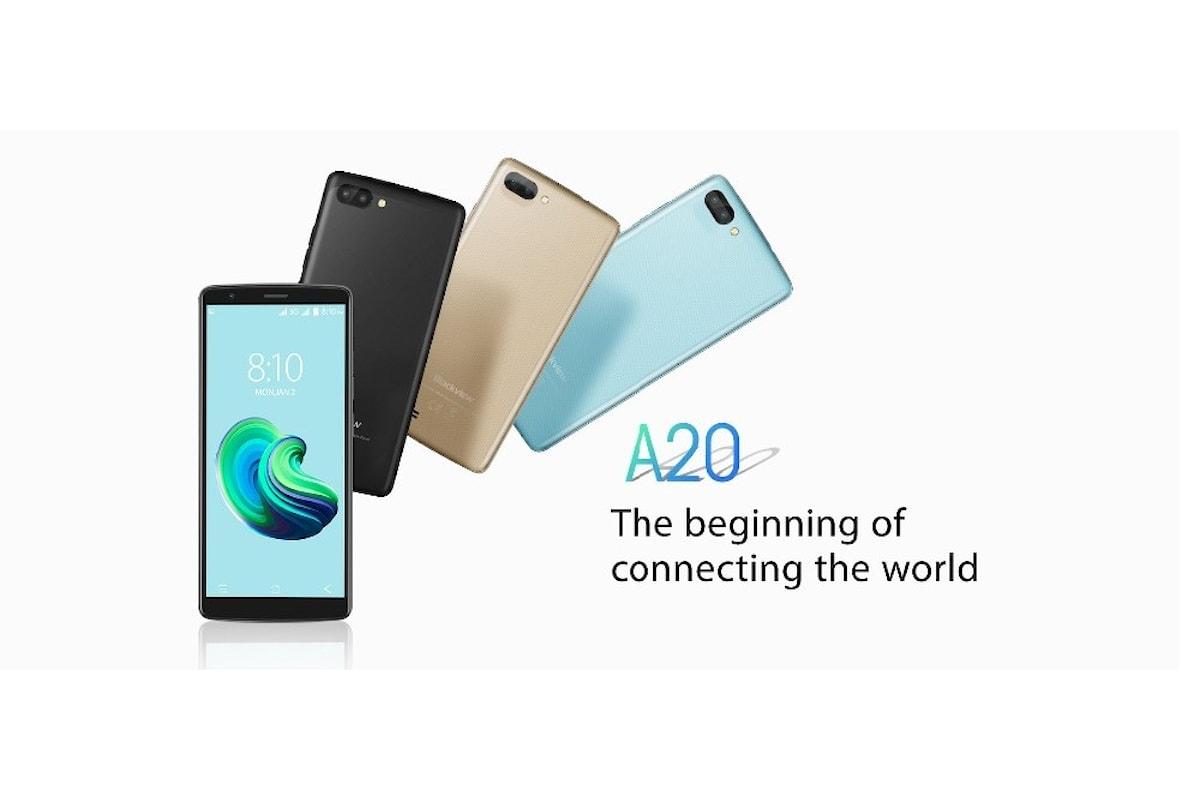 Blackview A20, uno smartphone con Android Go a prezzi di realizzo