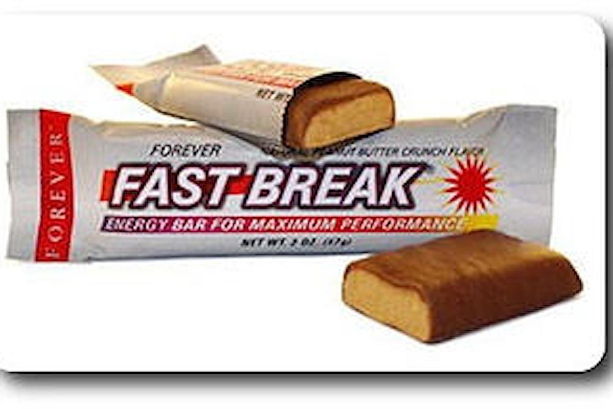 Forever Fast Break Energy Bar - aloe vera gel forever living