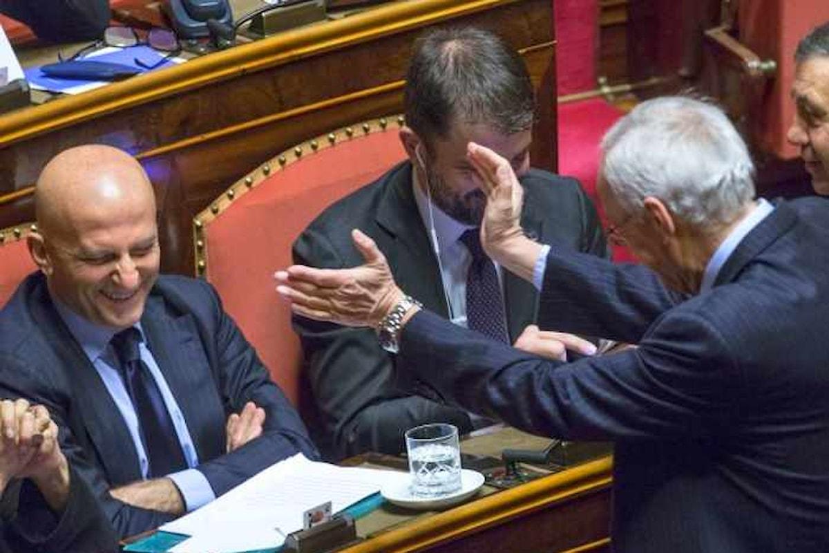 Al Senato PD e FI votano per mantenere in carica Minzolini bocciando, di fatto, la legge Severino