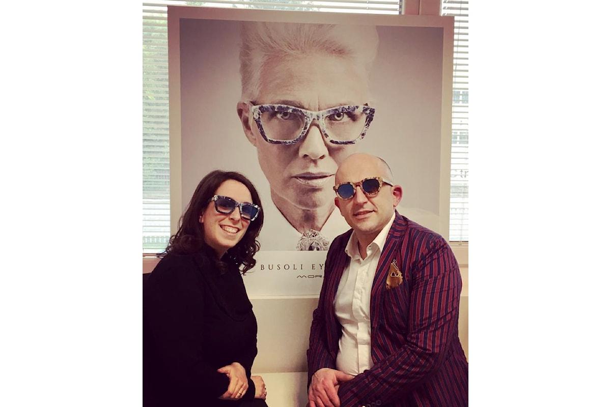 DStyle, in sinergia con Busoli Eyewear per un'occhiale unico nel suo genere