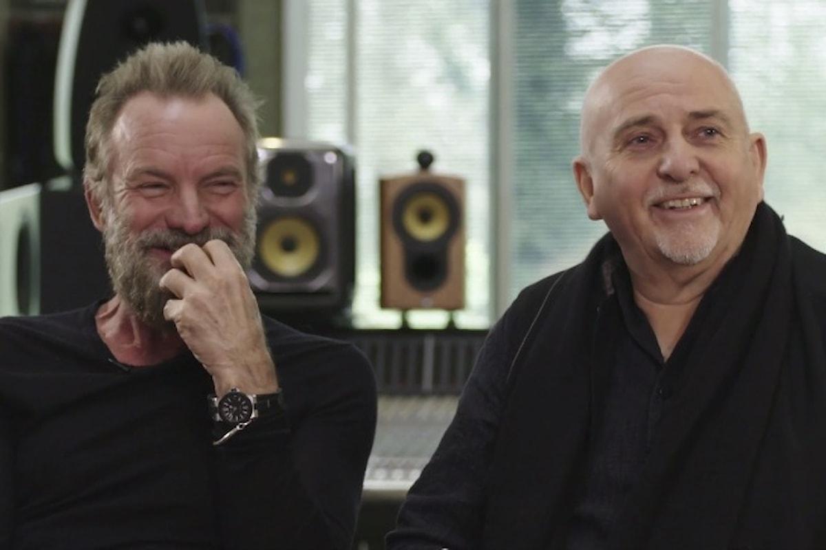 Sting e Peter Gabriel aprono il tour congiunto in Ohio
