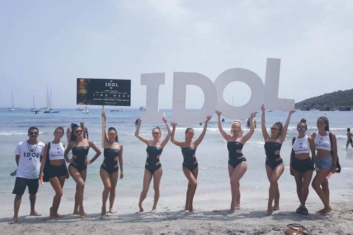IDOL, nuovo party italiano da esportazione fa ballare Sankeys Ibiza… e pure Cocoricò & Versilia