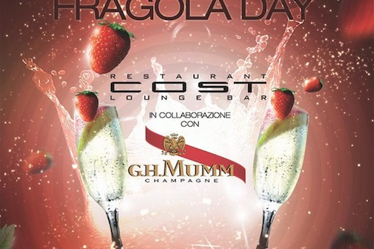 13 aprile, Fragola Day by G.H. Mumm Champagne al Cost, a Milano