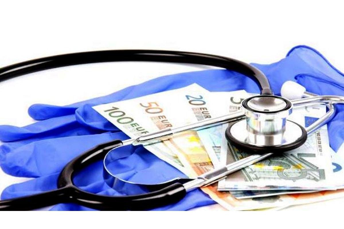 Rapporto Rbm-Censis per il Welfare Day, nel 2017 sono stati 44 milioni gli italiani costretti a spendere di tasca propria per curarsi
