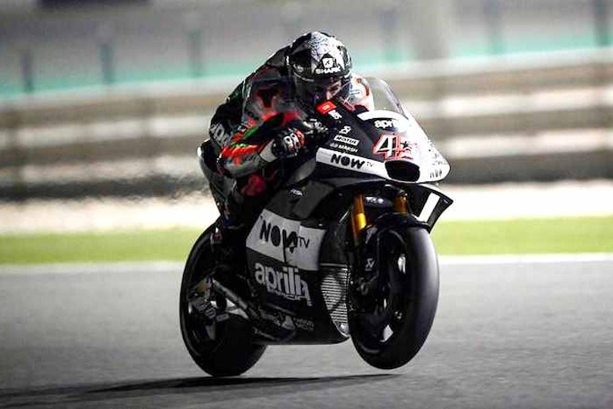 Aprilia cerca la definitiva conferma in MotoGP con la RS-GP 2018