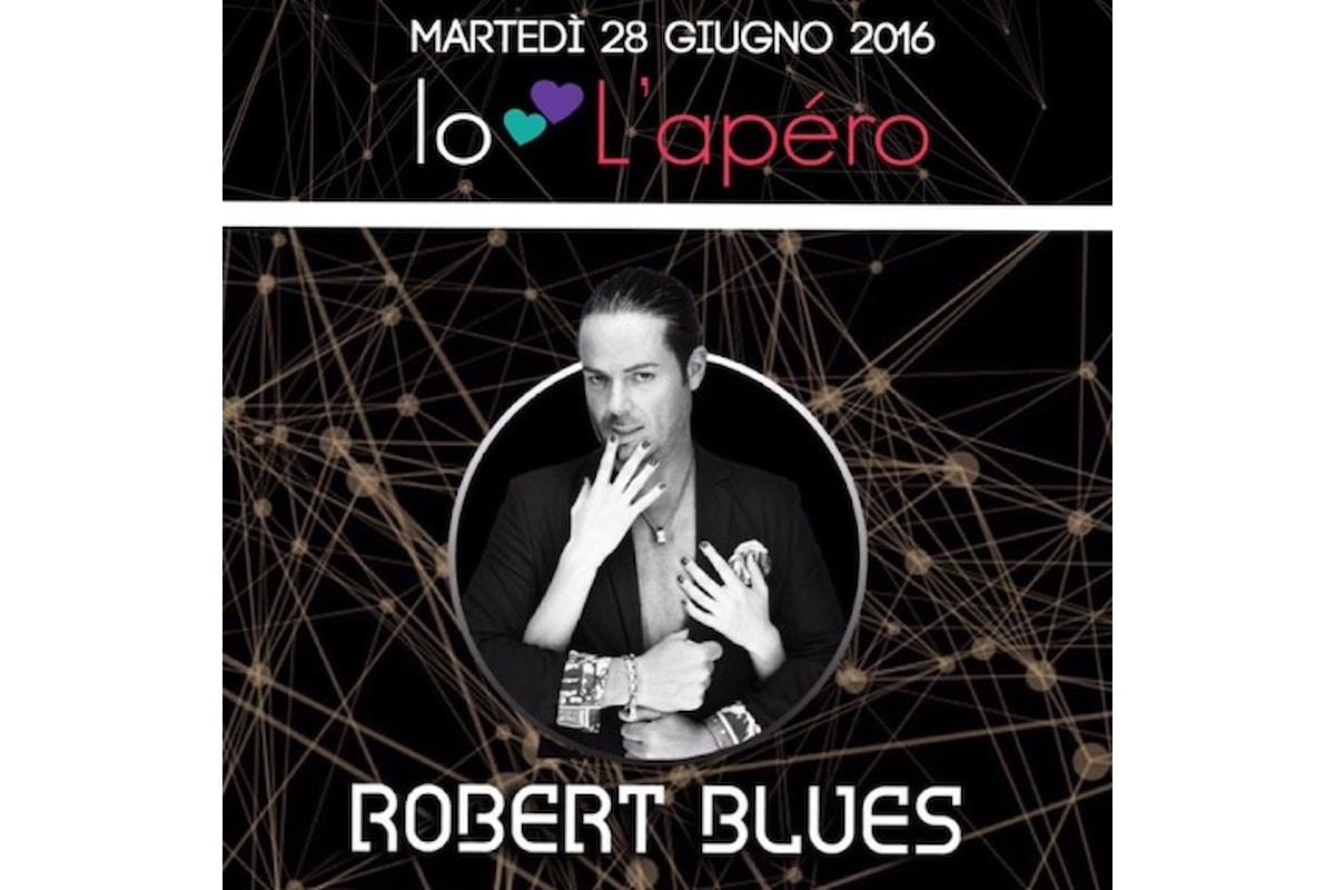 28/6 Robert Blues fa ballare L'Apèro club - Anzio (RM) con Federico Scavo