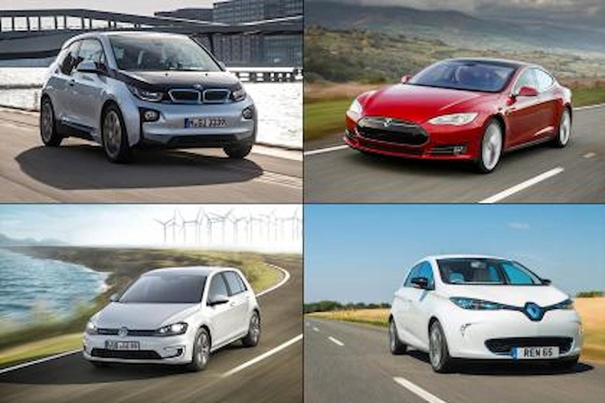 Auto elettriche in vendita in Italia: comparazione dati