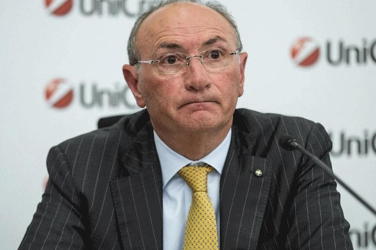 L'audizione di Federico Ghizzoni, ex amministratore delegato di Unicredit, alla Commissione banche