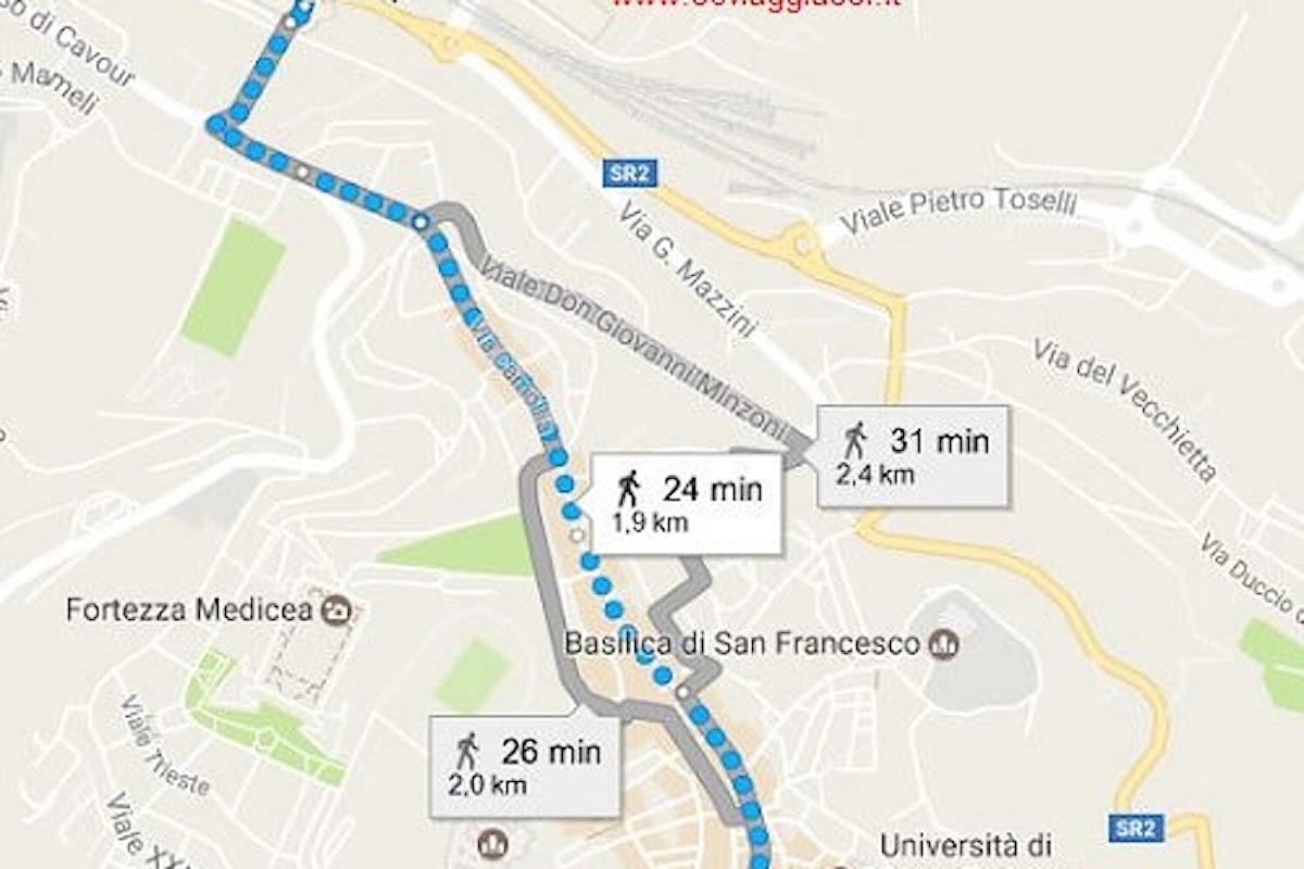 Siena città vivibile, puoi arrivare in treno e arrivare subito al centro storico