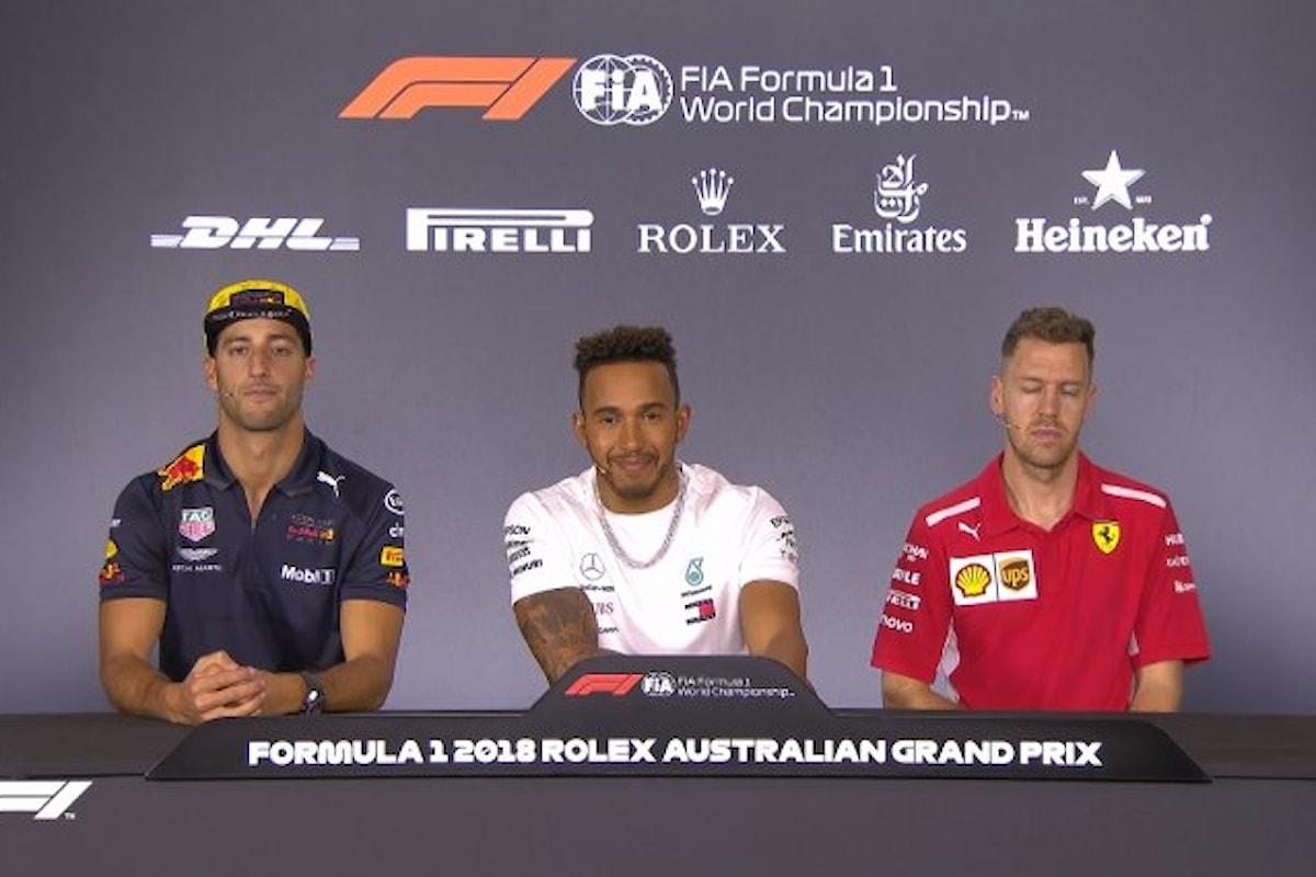 Formula 1 2018, si inizia da Melbourne: curiosità, statistiche, previsioni
