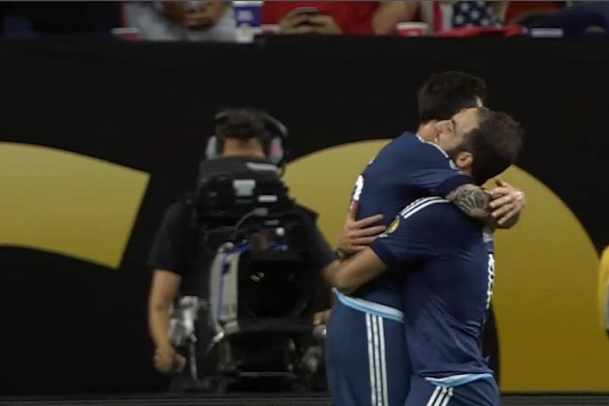 L'Argentina vola in finale dopo il 4-0 agli Usa. Stanotte Cile-Colombia