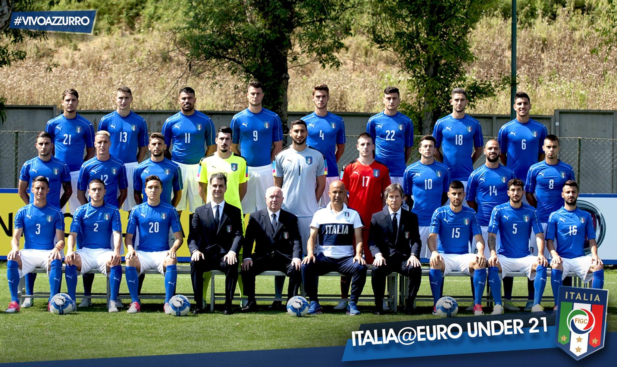 ITALIA-DANIMARCA parte questa sera l'europeo under 21 degli azzurrini