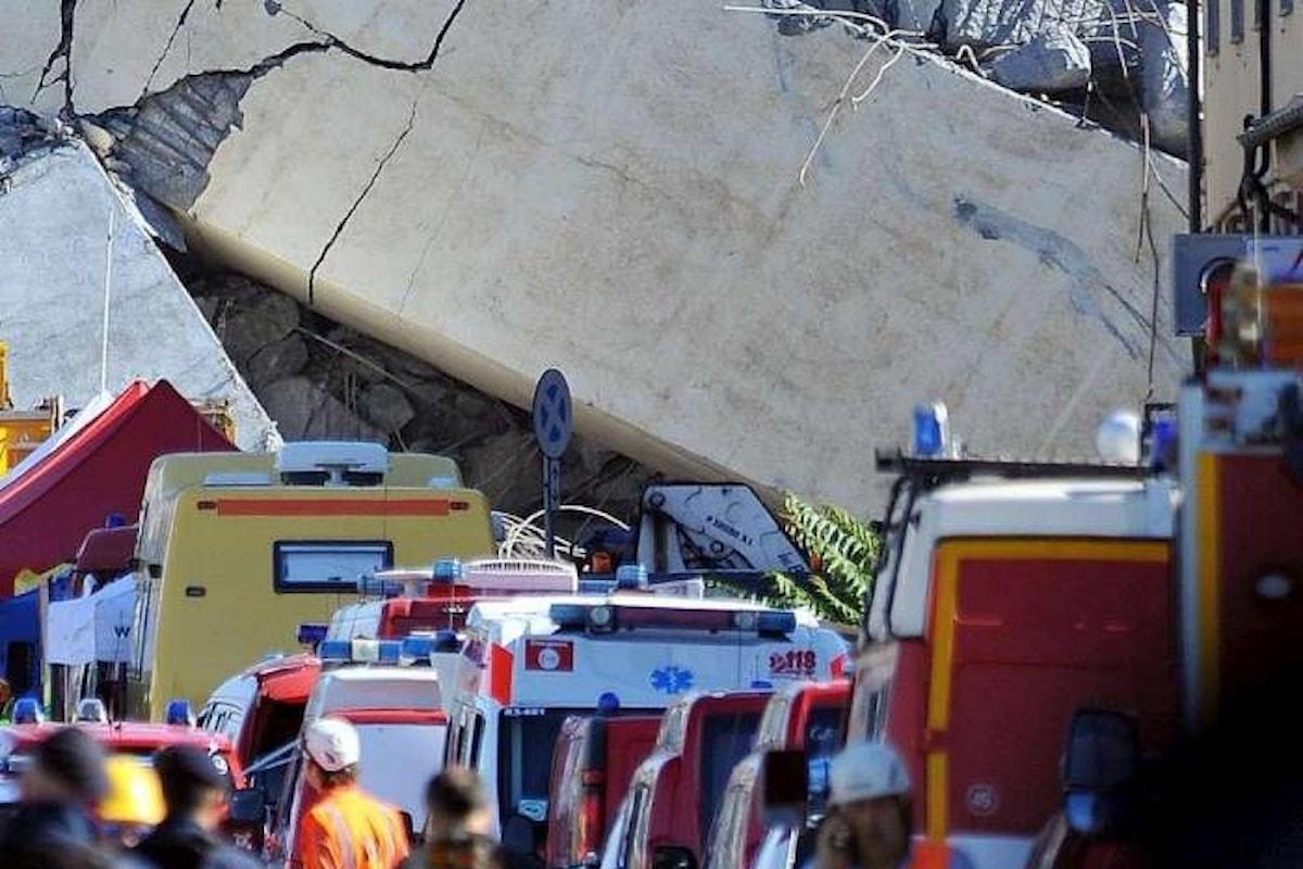 Tragedia di Genova, la Serie A rinvia gli incontri Sampdoria-Fiorentina e Milan-Genoa