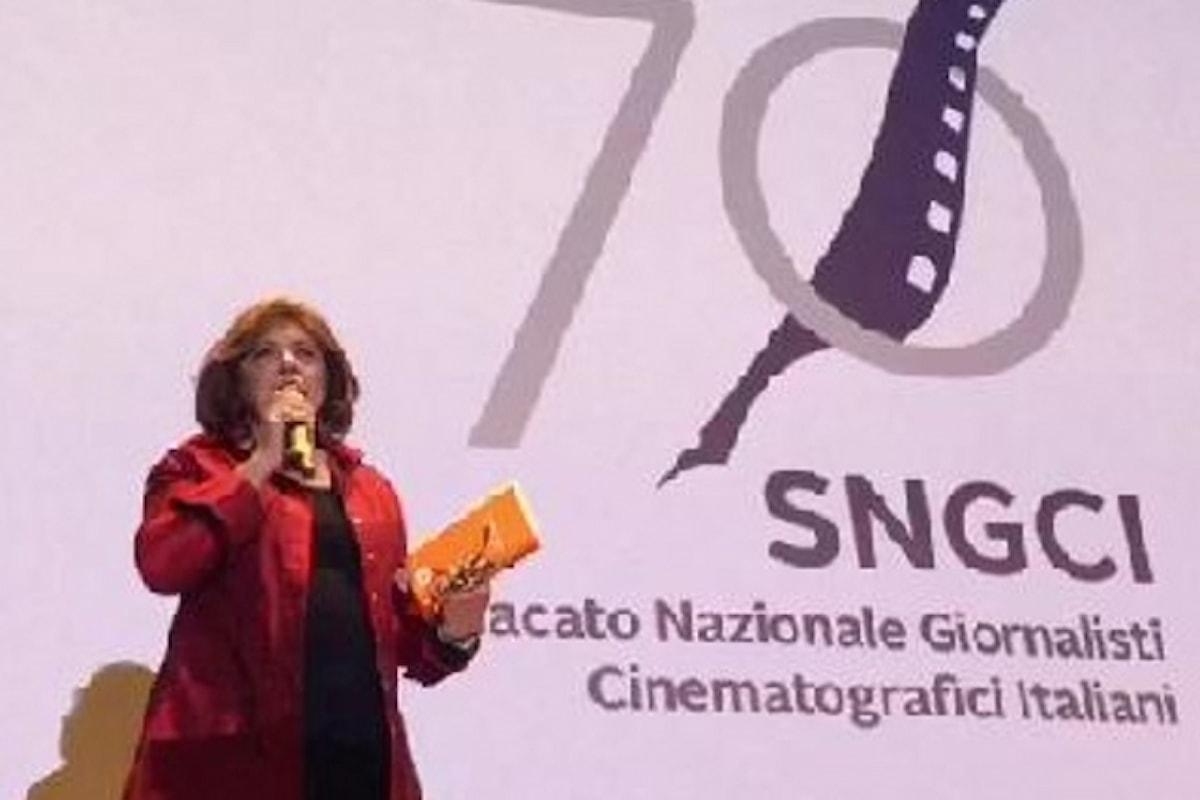 70 nei 70 con Laura Delli Colli, Pres. SNGCI, Lino Banfi ed Eleonora Giorgi