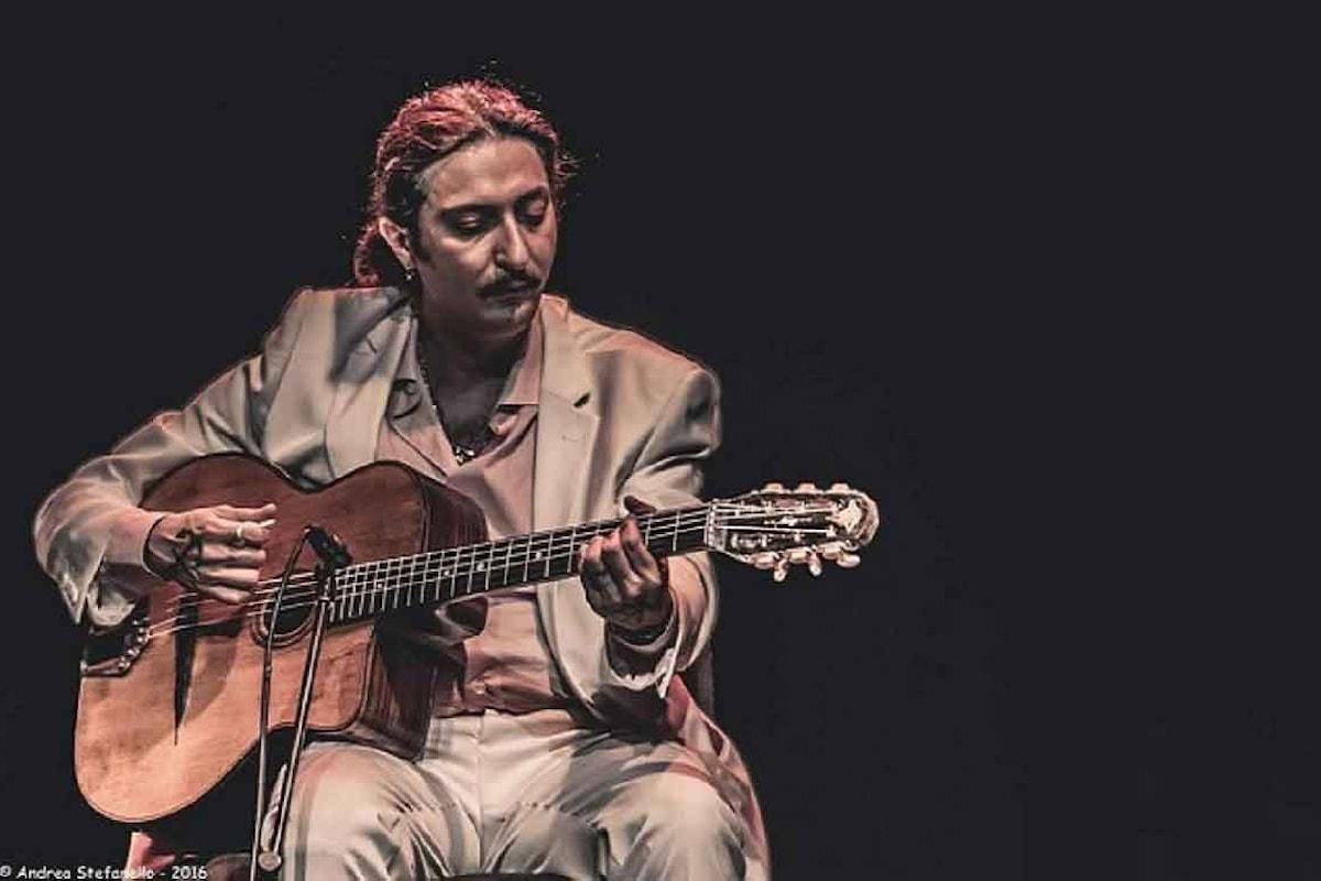 Miraldo Vidal in concerto, con il suo swing jazz a tinte gipsy