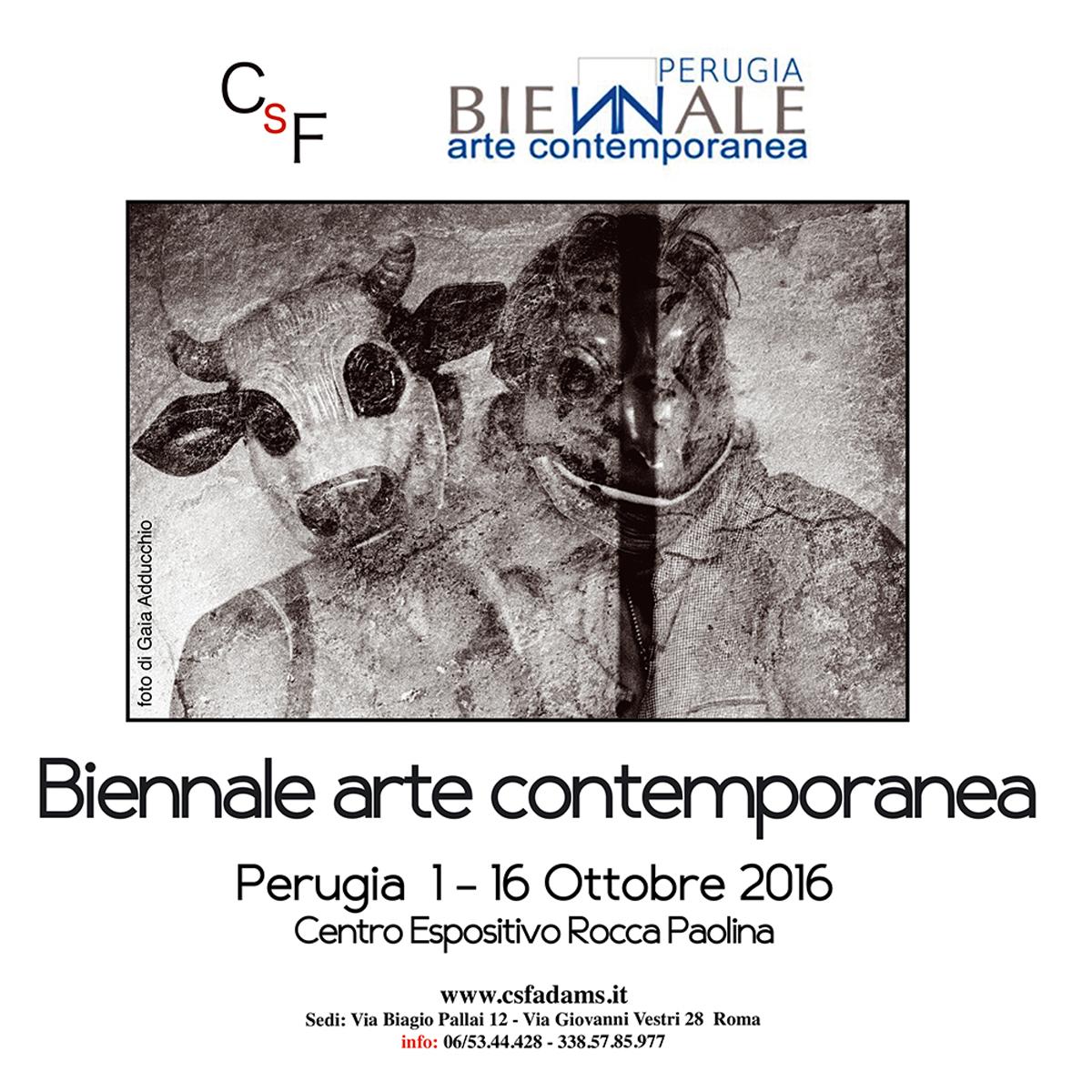 I biennale d'arte contemporanea della città di Perugia