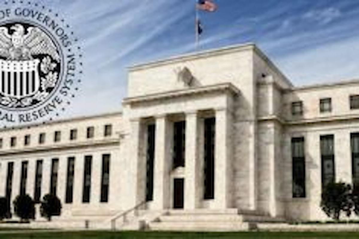 Mercati convinti al 67%: la FED alzerà i tassi anche a dicembre