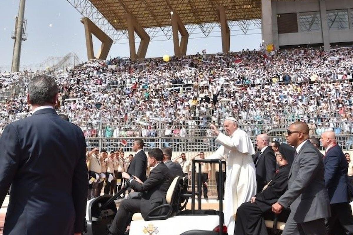 La seconda giornata del viaggio apostolico in Egitto di Papa Francesco