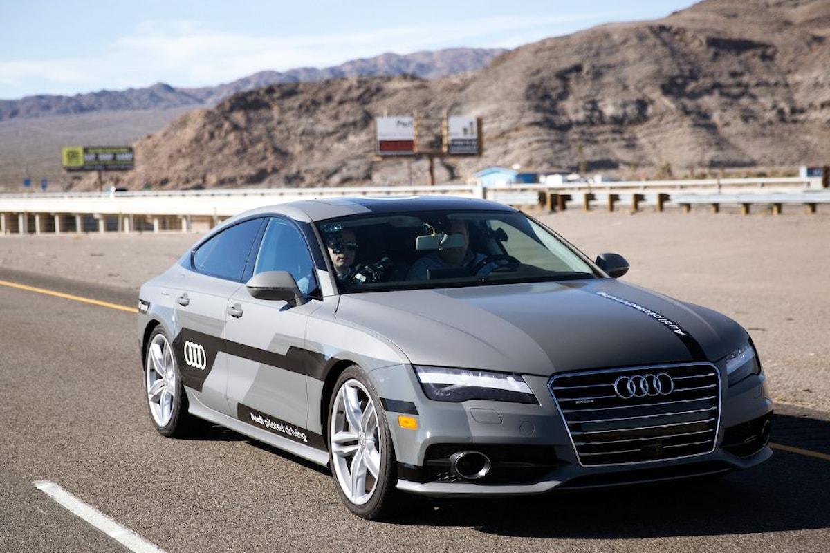 Audi sul mercato con auto a guida autonoma dal 2018